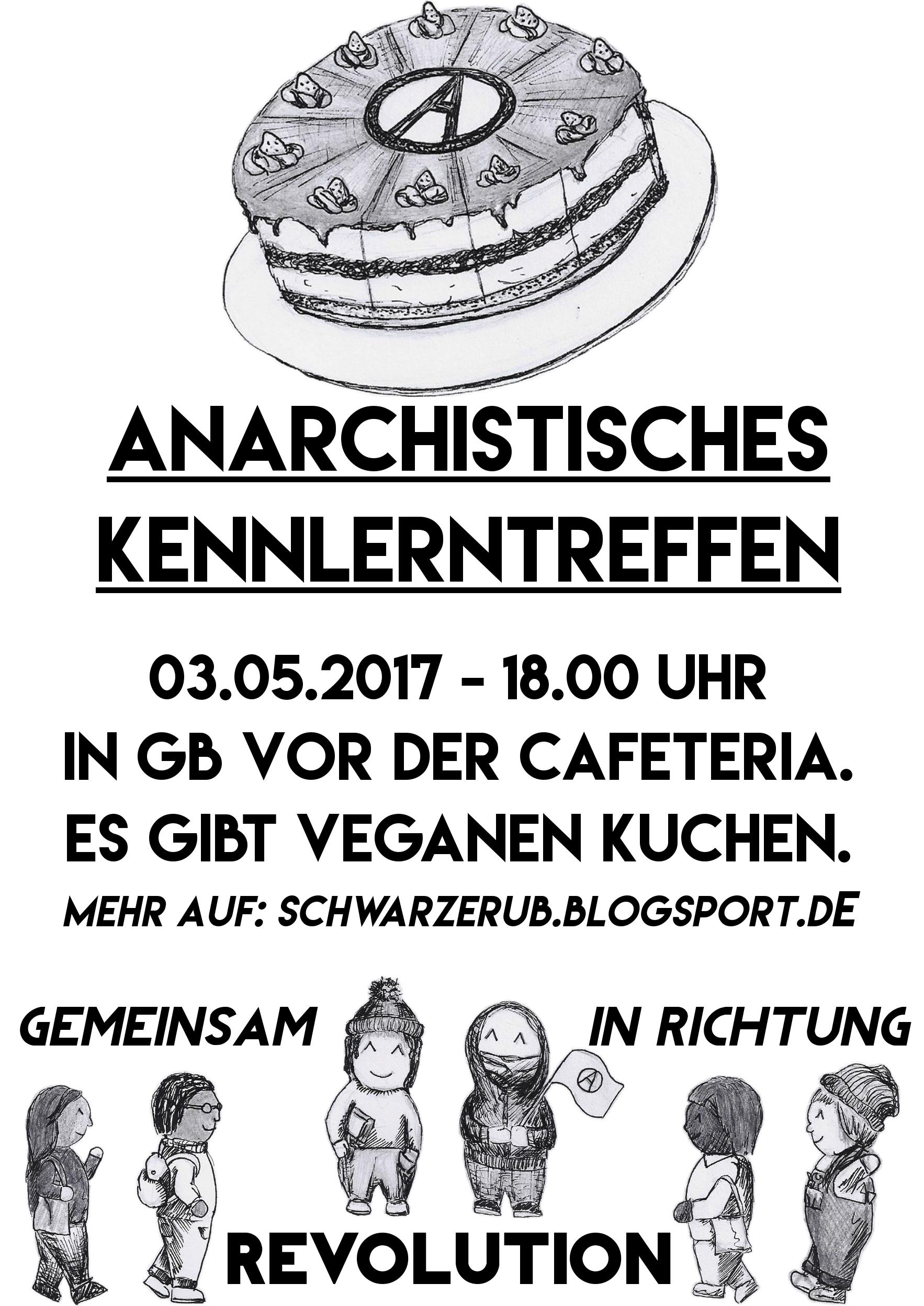 [Plakat: Anarchistisches Kennenlerntreffen 3.5.2017]